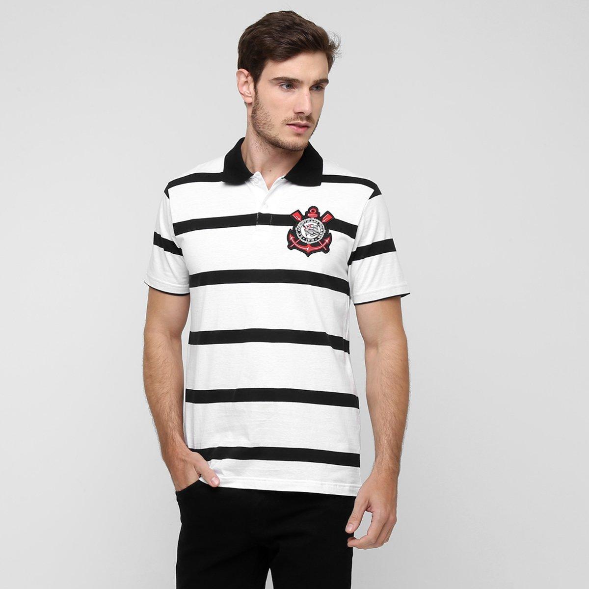 0dcb53c6ad Camisa Polo Corinthians Harris Masculina - Compre Agora