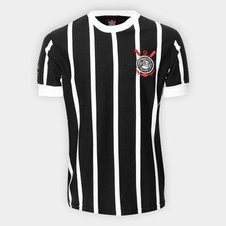 Camisa Retrô Corinthians Réplica 1977 Masculina