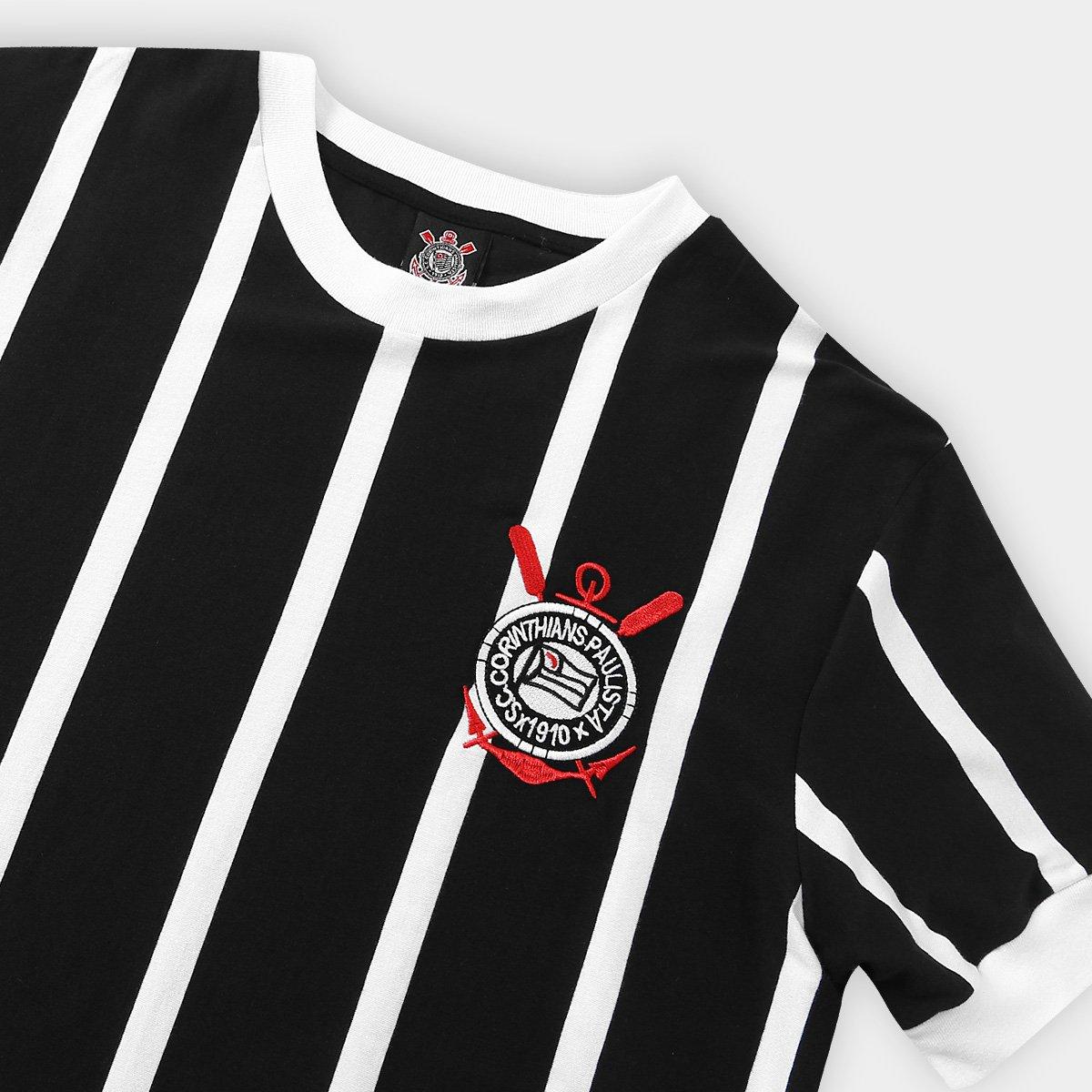 Camisa Retrô Corinthians Réplica 1977 Masculina - Compre Agora ... c03a09efd6763