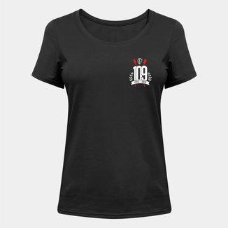Camiseta Corinthians 109 Anos - Feminina