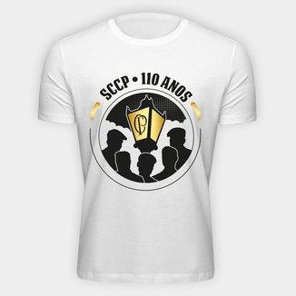 Camiseta Corinthians 110 Anos Dourado Masculina