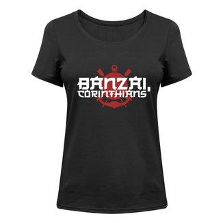 Camiseta Corinthians Banzai, Corinthians Feminina