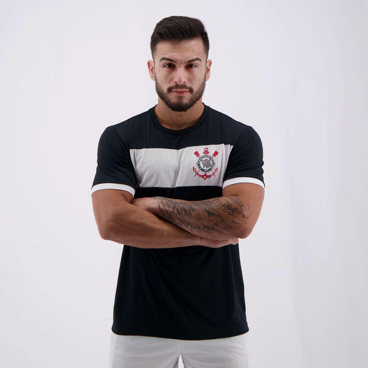 Camiseta Corinthians Basic Masculina - Compre Agora  9d557364aa9