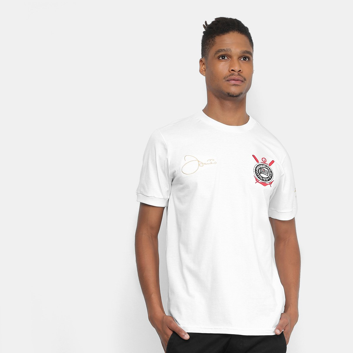 Camiseta Corinthians Basilio Réplica 1979 0333a2d1208a1