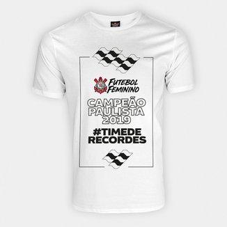 Camiseta Corinthians - Campeão Paulista 2019 Futebol Feminino - Masculina