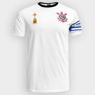 Camiseta Corinthians Capitães Libertadores 2012 n° 2 Masculina