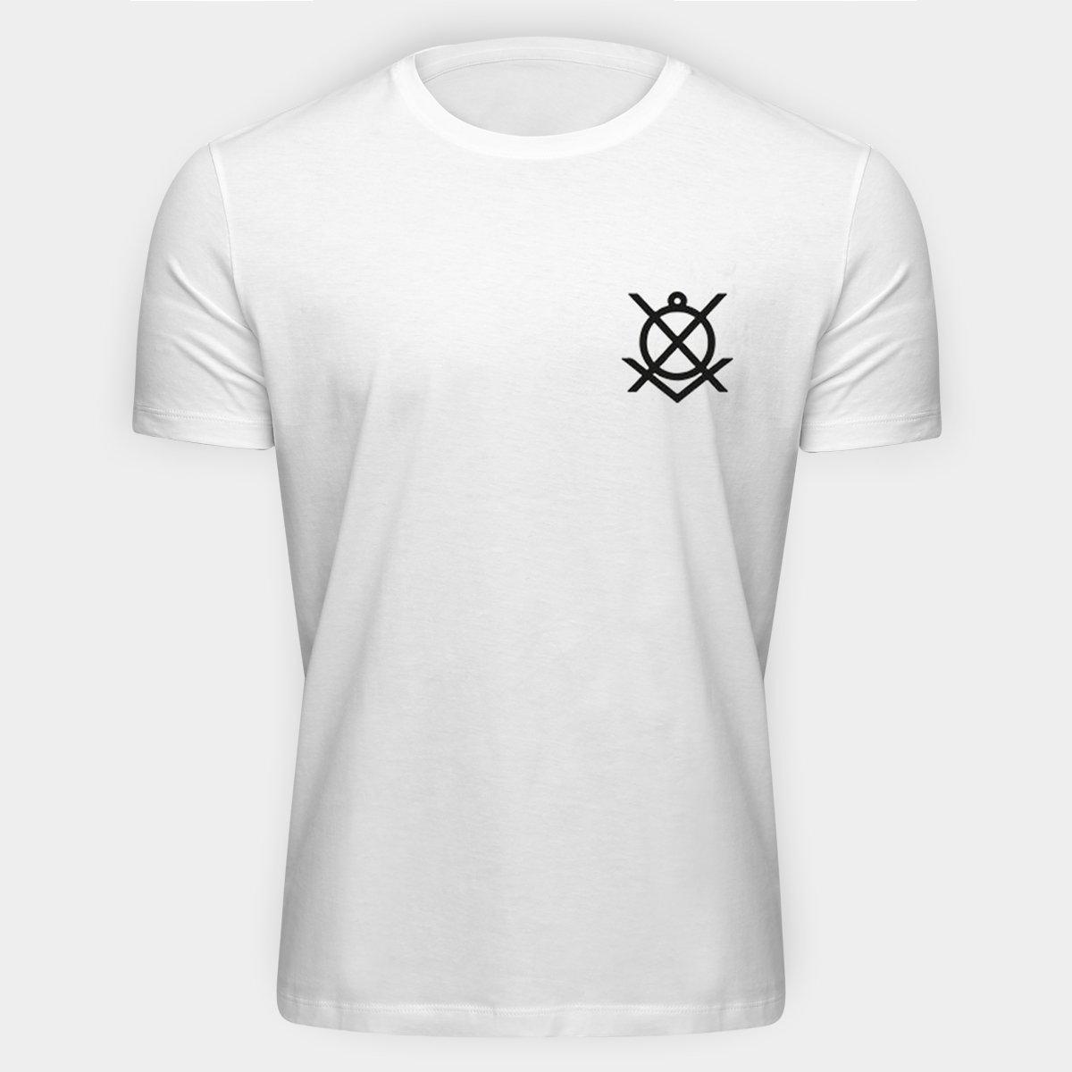 2e4285d35ed Camiseta Corinthians Corinthianismo Masculina - Branco - Compre ...