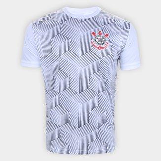 Camiseta Corinthians Cubos Masculina