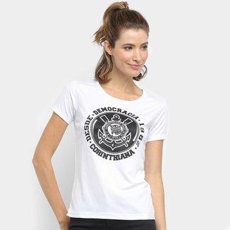 Camiseta Corinthians Democracia Corinthiana Frank Feminina