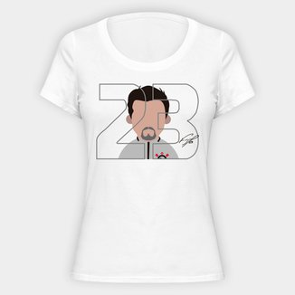Camiseta Corinthians Fagner 23 Feminina