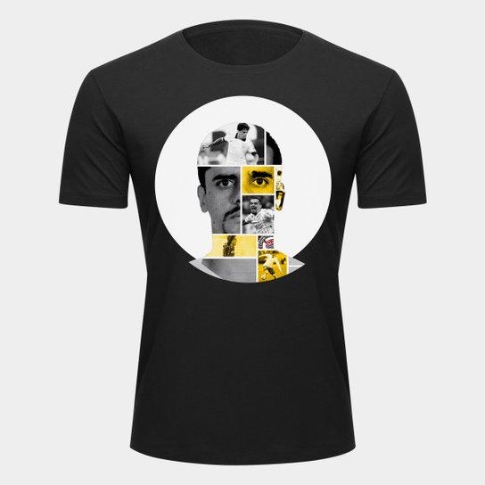 Camiseta Corinthians Fagner Masculina - Preto