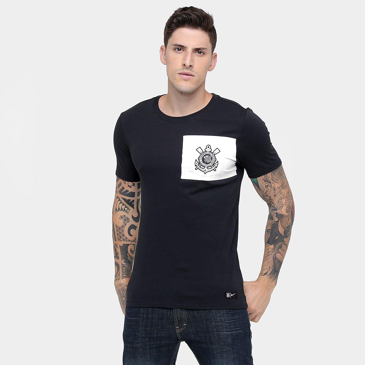 75e667a8cc Camiseta Corinthians Nike Masculina