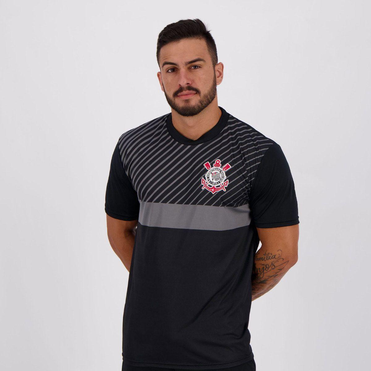 Camiseta Corinthians Peter Masculina - Compre Agora  f79183efdcb