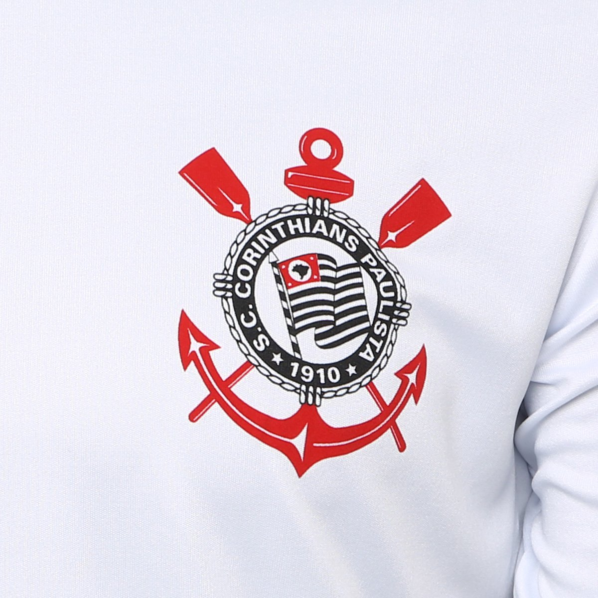 Camiseta Corinthians Réplica 1988 - Branco - Compre Agora  1c00768b2abdd