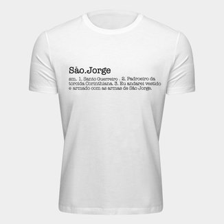 Camiseta Corinthians Santo Guerreiro Masculina