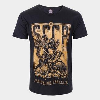 Camiseta Corinthians São Jorge Golden Masculina
