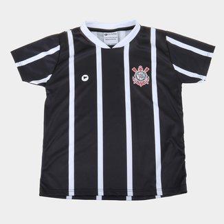 Camiseta Infantil Corinthians Torcida Baby Sublimada