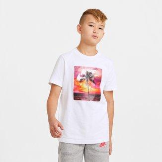 Camiseta Infantil Nike Nsw Tee Nike Air Masculina
