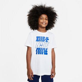 Camiseta Infantil Nike Sportwear Nike Stac