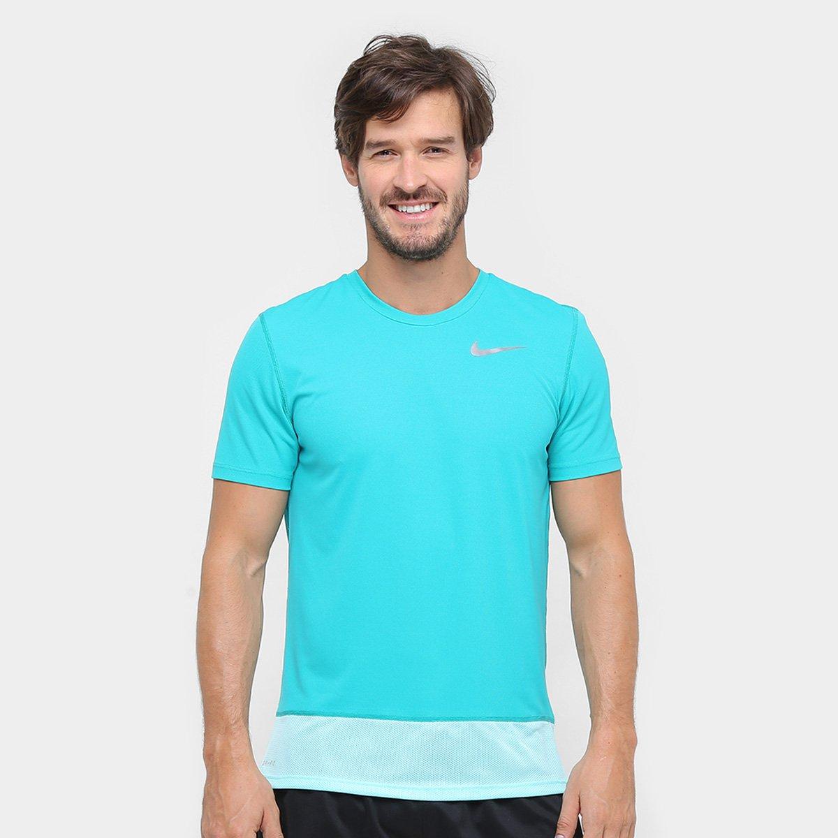 ba2dd8e2201c3 Camiseta Nike Dri-Fit Breathe Rapid SS Masculina - Compre Agora ...