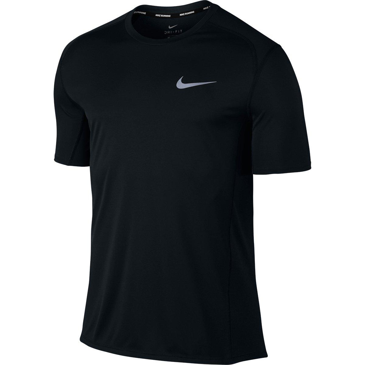 decc43fd062c8e Camiseta Nike Dri-Fit Miler Masculina - Preto | Shop Timão