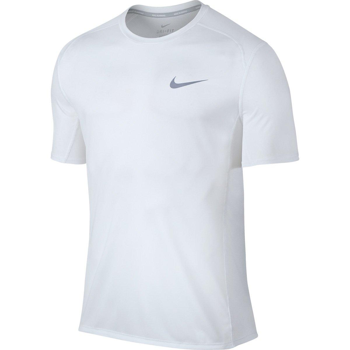 1386d25c627e2 Camiseta Nike Dri-Fit Miler SS Masculina - Branco - Compre Agora ...