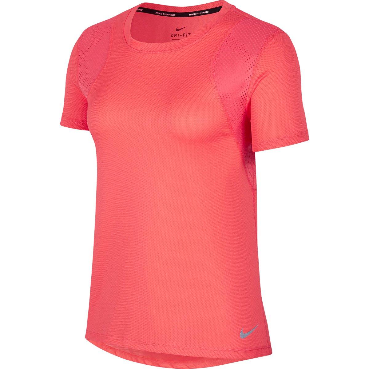 modelado duradero 60% barato amplia selección de colores y diseños Camiseta Nike Dri-Fit Run Feminina - Pink