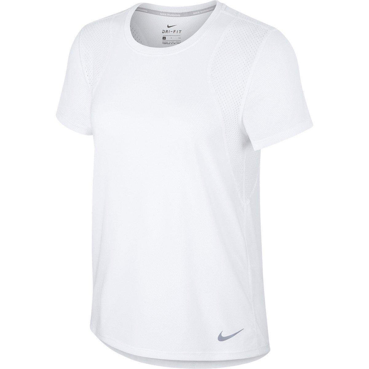 Mejor precio bonito diseño colores y llamativos Camiseta Nike Dri-Fit Run Feminina - Branco