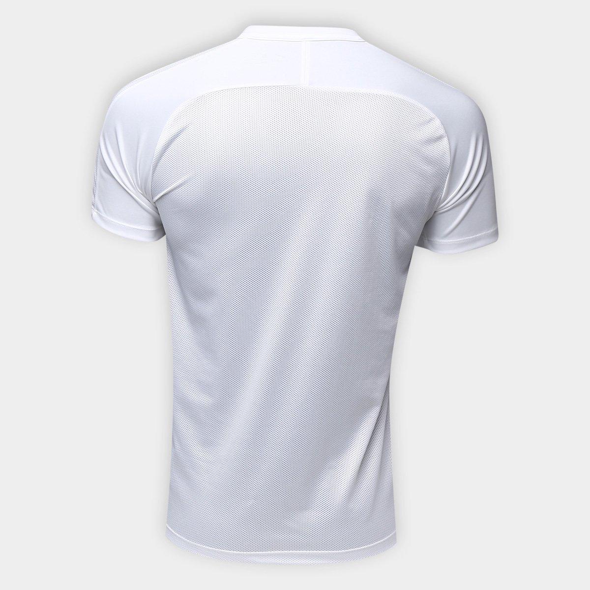 ... Camiseta Nike Dry Academy Top SS GX2 Masculina - Branco e Preto . 04fd1d62586c6