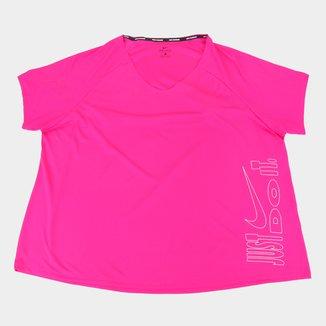 Camiseta Nike Icon Clash Miler Top Plus Size Feminina