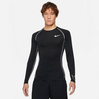 Camiseta Nike Np Df Tight L Manga Longa Masculina