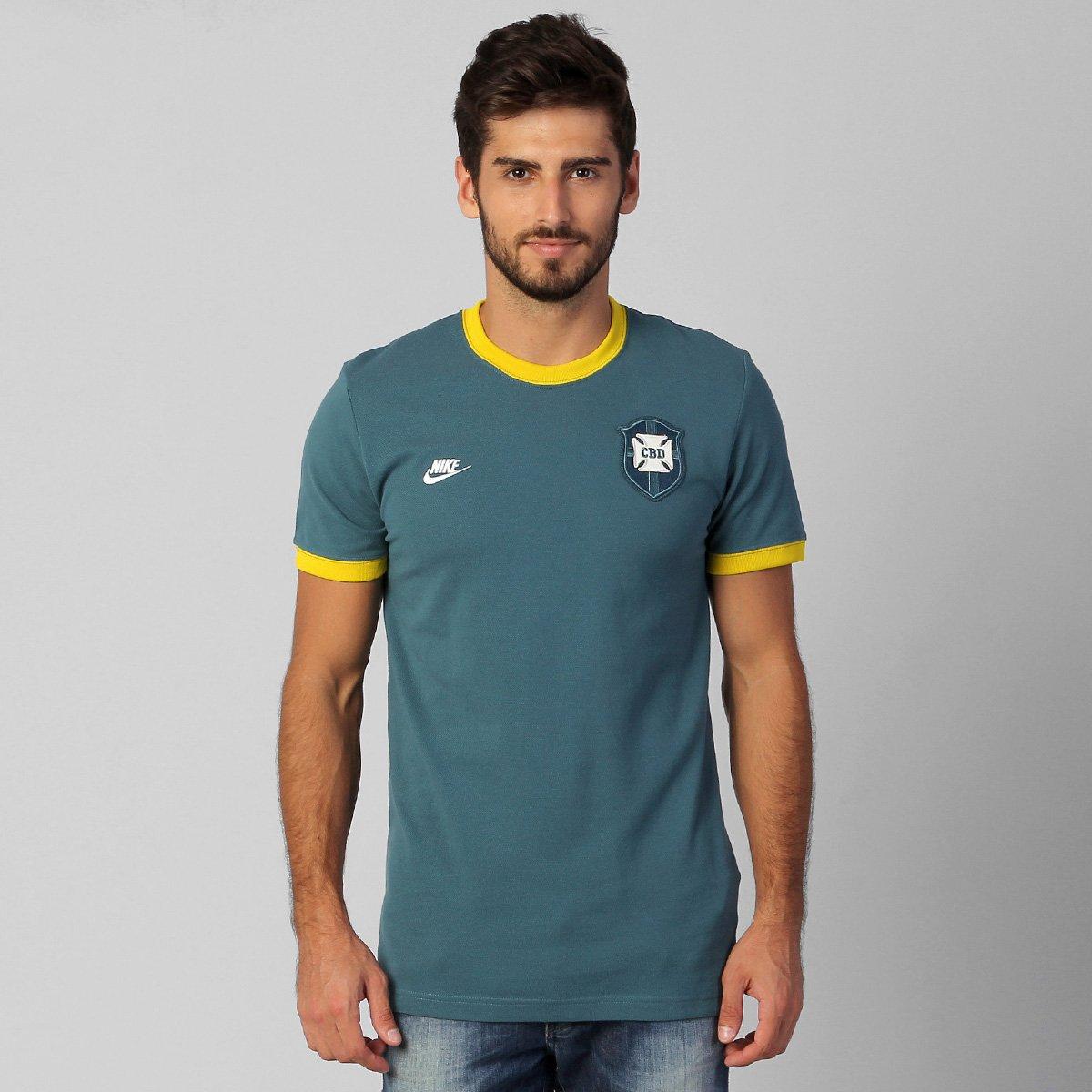 d79c9451c8e Camiseta Nike Seleção Brasil Retrô - Compre Agora