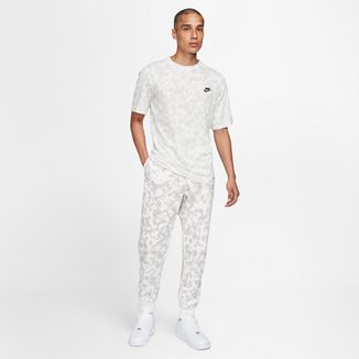 Camiseta Nike Sportwear Club Oap Camuflada Masculina