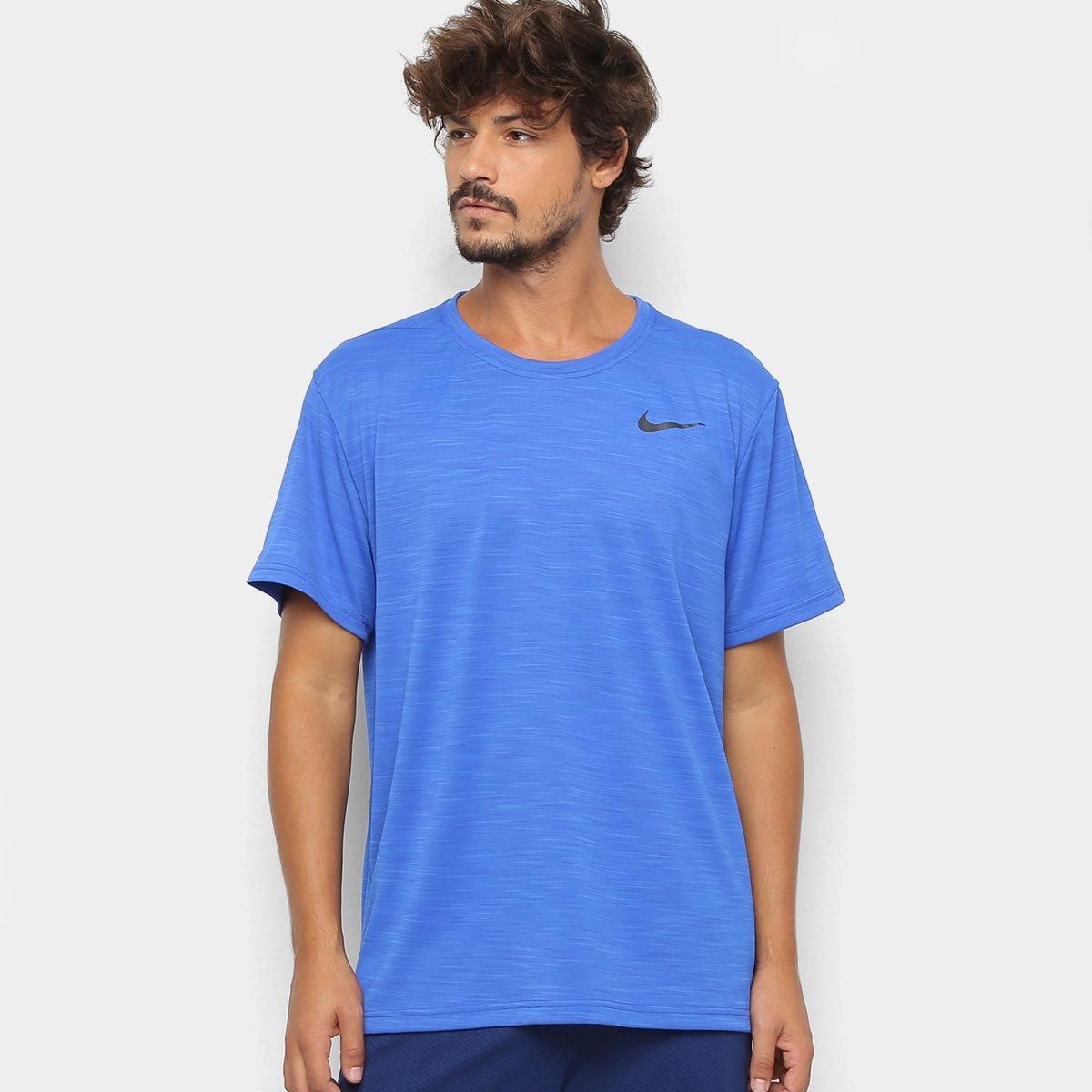 da6a06e27cda5 Camiseta Nike Superset Masculina - Azul Royal - Compre Agora