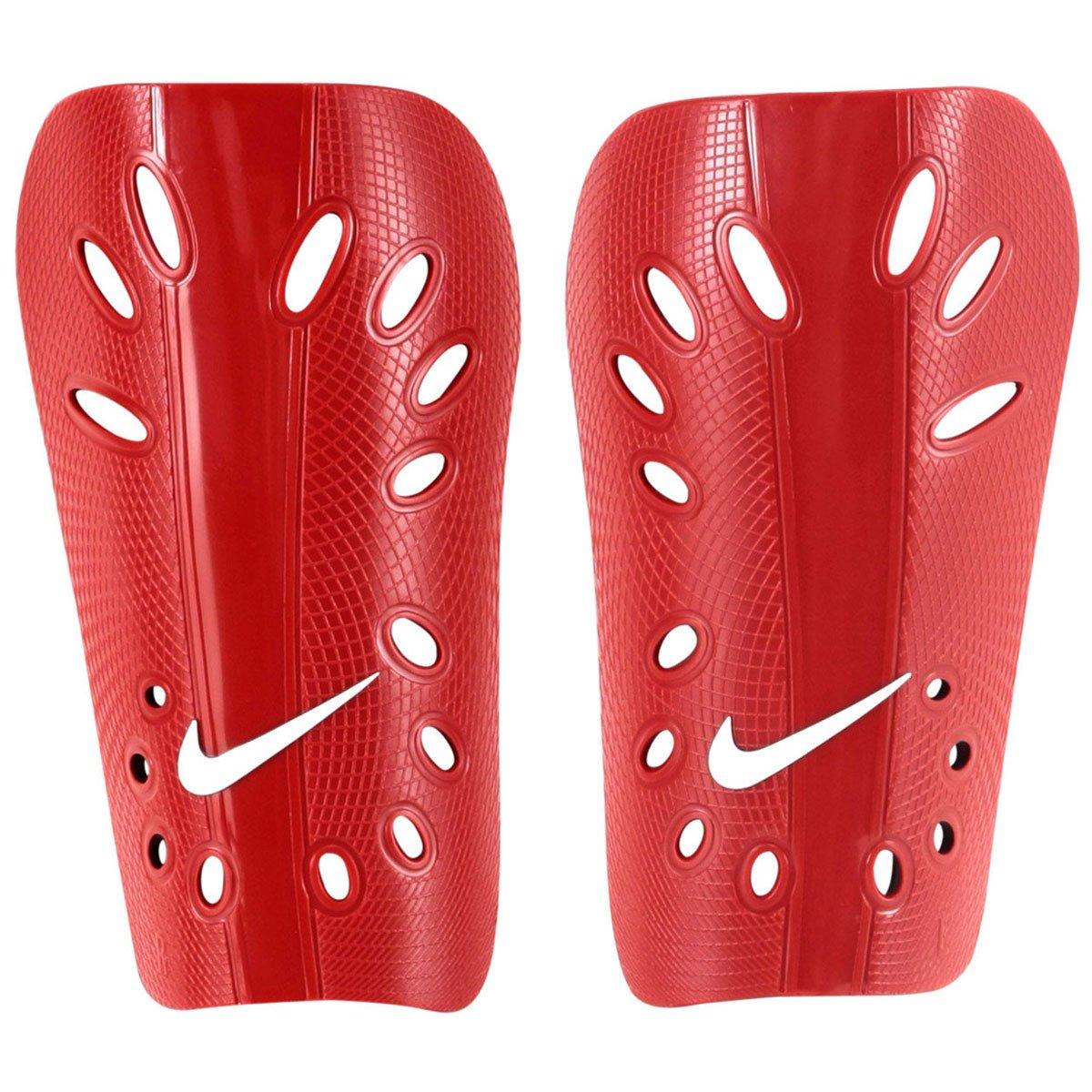1ceb733ac4 Caneleira Futebol Nike J Guard - Vermelho e Branco - Compre Agora ...