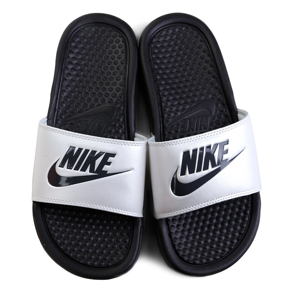 Chinelo Nike Benassi Jdi Slide Feminino Preto E Cinza