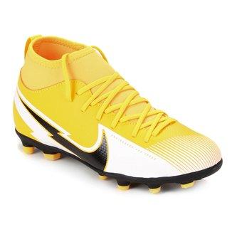 Chuteira Campo Infantil Nike Mercurial Superfly 7 Club FG