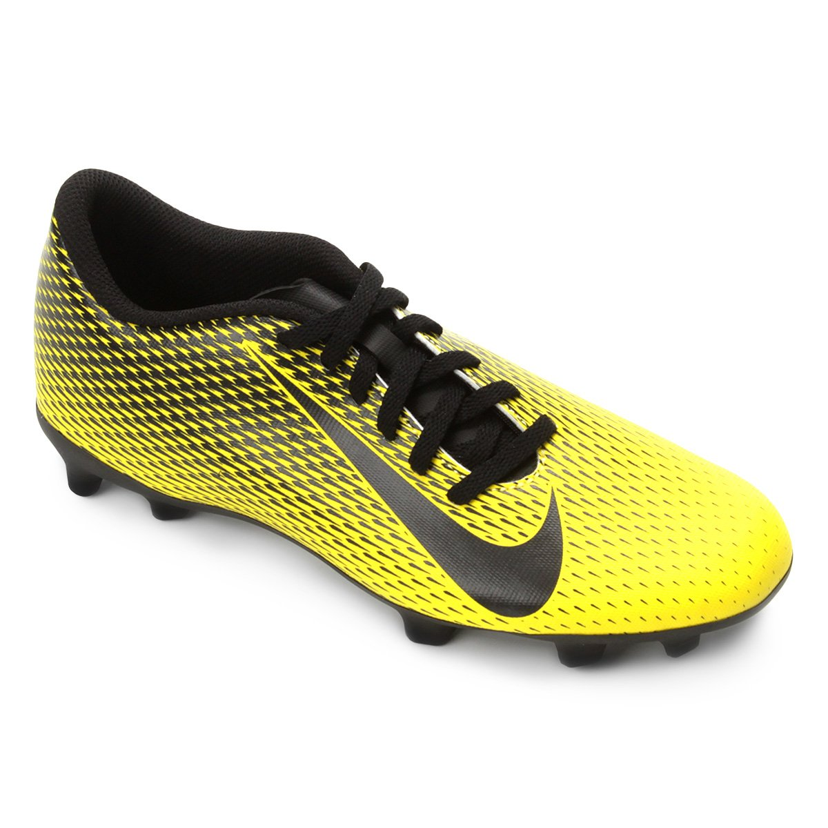 2ea7382b54 Chuteira Campo Nike Bravata II FG - Amarelo e Preto - Compre Agora ...