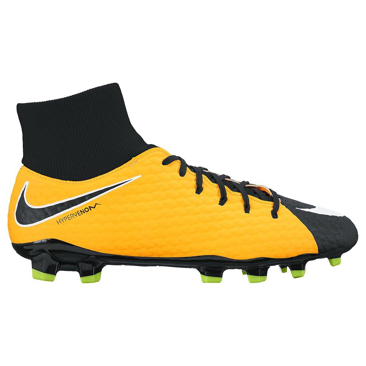 Chuteira Campo Nike Hypervenom Phelon 3 DF FG - Compre Agora  3544e480711ae