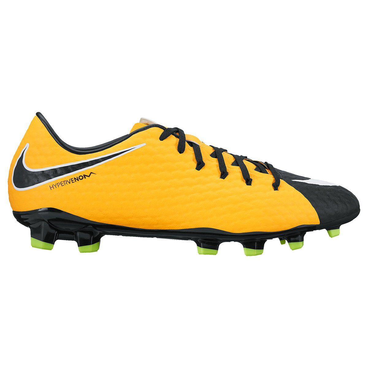 d2aecf3e81 Chuteira Campo Nike Hypervenom Phelon 3 FG - Laranja e Preto ...