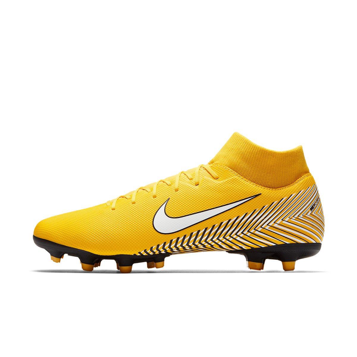 41f06cbe6645b Chuteira Campo Nike Mercurial Superfly 6 Academy Neymar FG - Amarelo e  Preto - Compre Agora