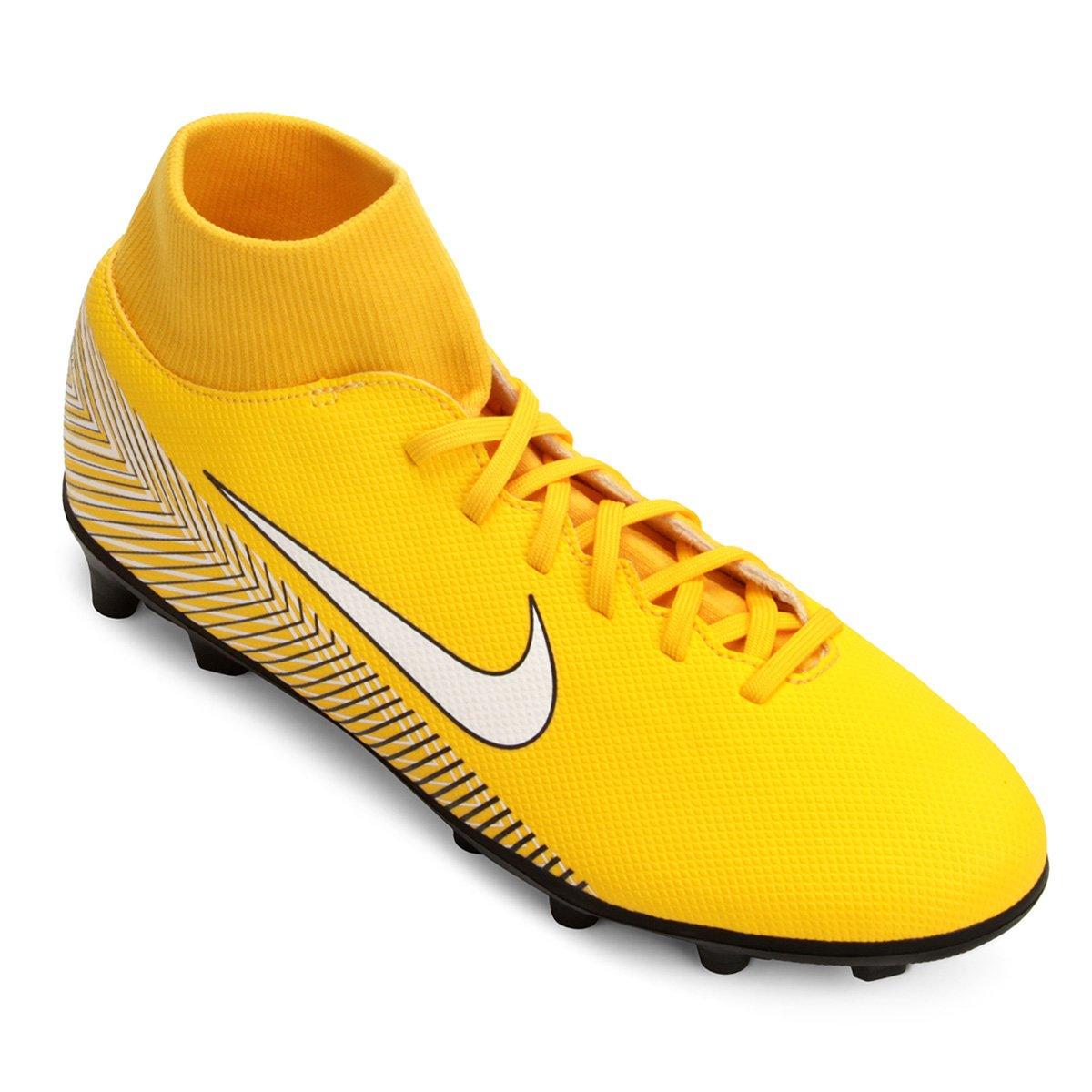 099f02f3a8807 Chuteira Campo Nike Mercurial Superfly 6 Club Neymar FG - Amarelo e Preto -  Compre Agora