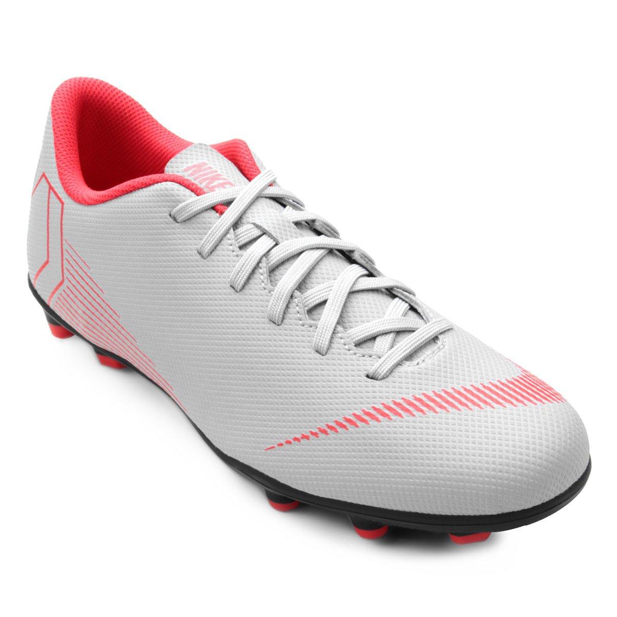 9426776d0b Chuteira Campo Nike Mercurial Vapor 12 Club - Cinza - Compre Agora ...