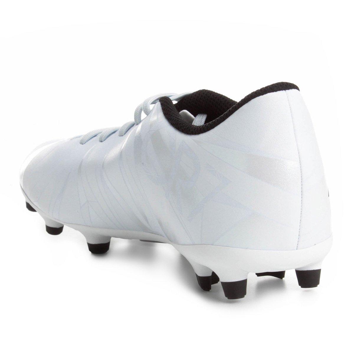 2a00ddf6c7 Chuteira Campo Nike Mercurial Vortex 3 CR7 FG - Branco e Preto ...