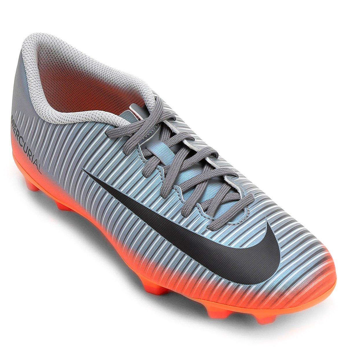 ccbed44c040ad Chuteira Campo Nike Mercurial Vortex 3 CR7 FG - Compre Agora
