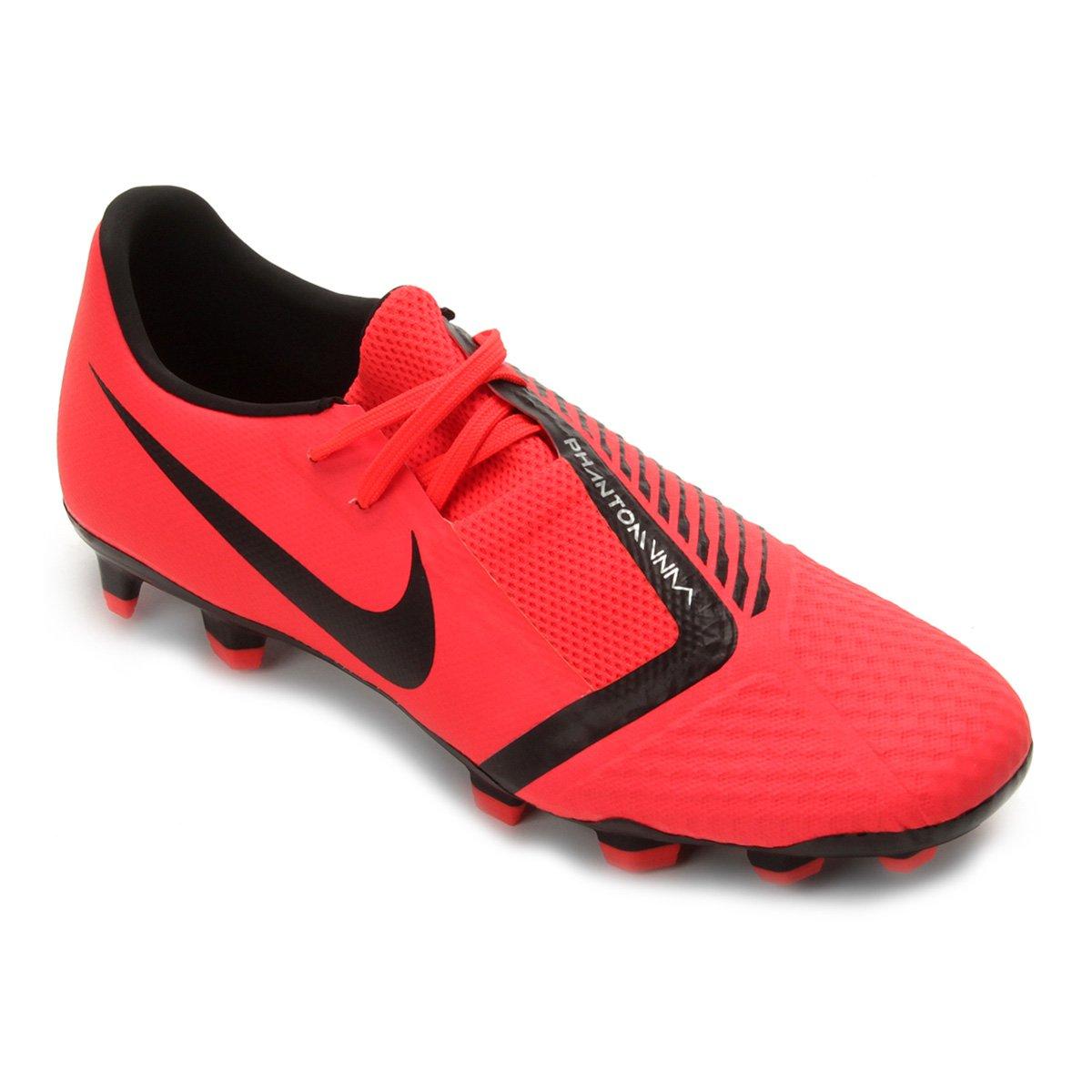0f722ed4d Chuteira Campo Nike Phantom Venom Academy FG - Vermelho e Preto - Compre  Agora