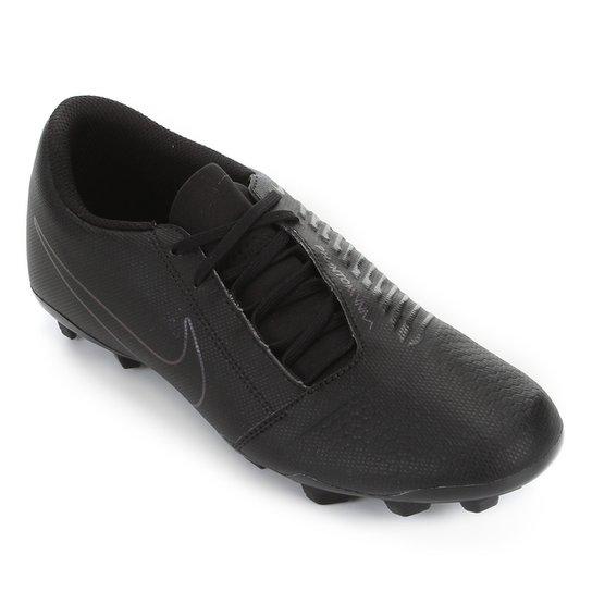 Chuteira Campo Nike Phantom Venom Club FG - Preto
