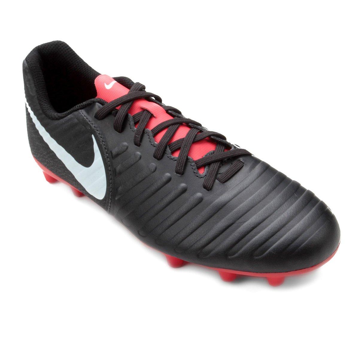 8a00b0843c Chuteira Campo Nike Tiempo Legend 7 Club FG - Preto - Compre Agora ...