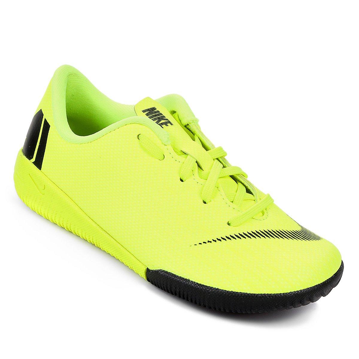 2a0a4477b42e3 Chuteira Futsal Infantil Nike Mercurial Vapor 12 Academy - Amarelo e Preto  | Shop Timão