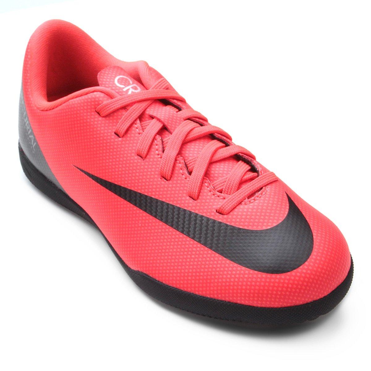 920365d398 Chuteira Futsal Infantil Nike Mercurial Vapor 12 Club GS CR7 IC ...